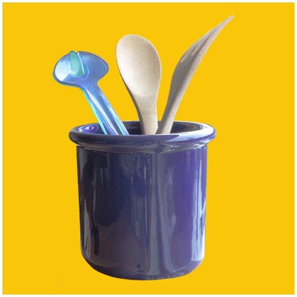 Mille Køkkenredskabsholder Blå
