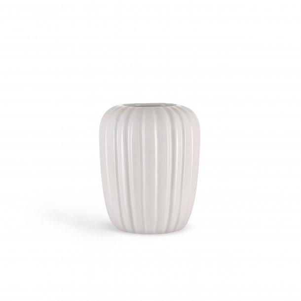 Eslau vase,a3, lille hvid, dansk design og kvalitet