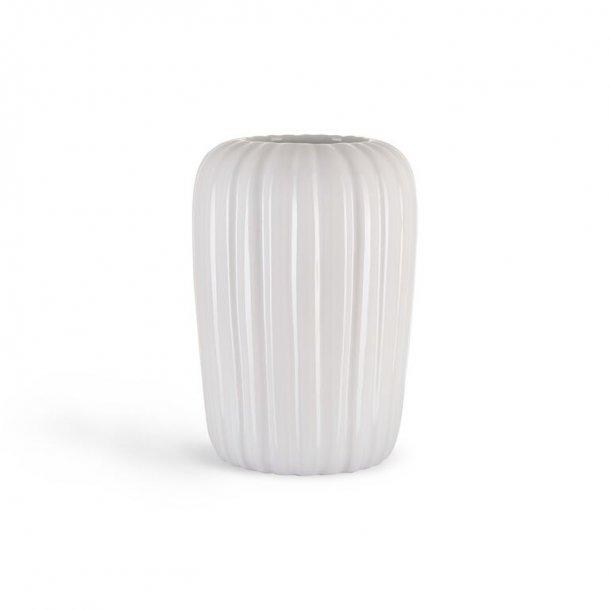 Eslau vase, a5, høj hvid, originalt dansk design