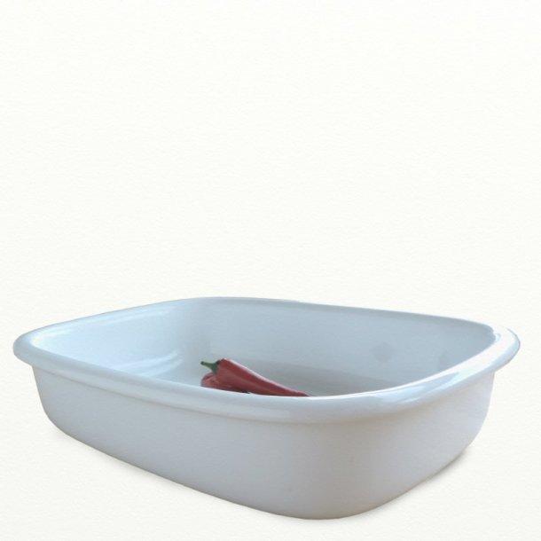 Lasagnefad 2,8 ltr - Mille serien - ovnfast porcelæn - Eslau varenr. 4023