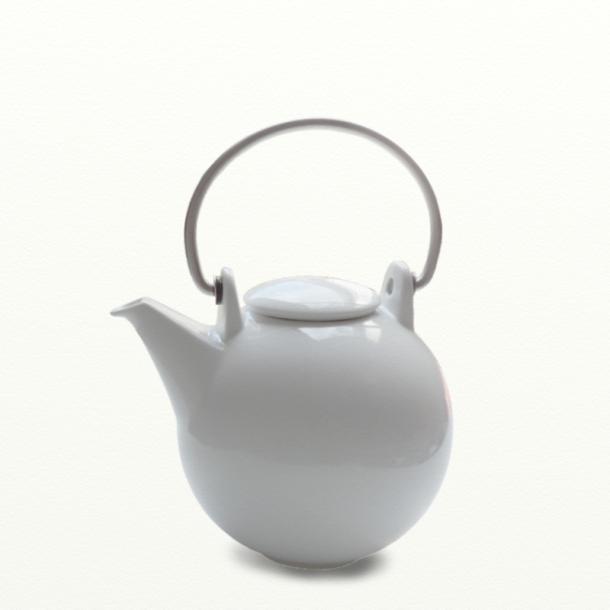 Tekande Bornholm 1,5 ltr., hvid, - design Ejnar