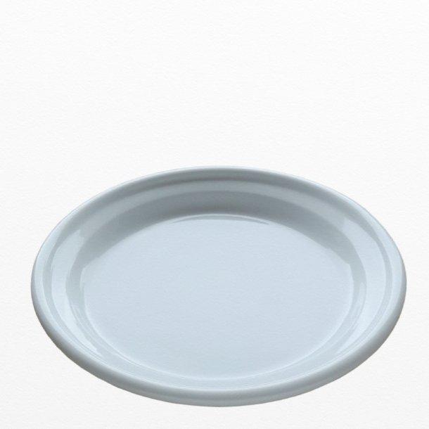 Hvid Middagstallerken Ø 25,5 cm - MILLE - Dansk design: TUE