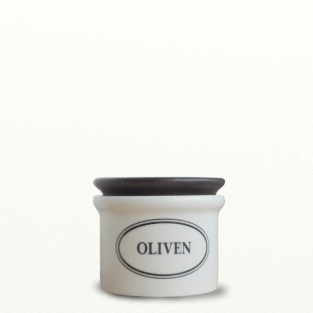 Opbevaringskrukke 0,5 l oliven - Design Bjarne Bo