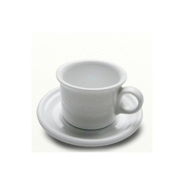 Kaffekop 0,18 l & underkop Ø 14,5 cm - Mille spisestel - design Tue.