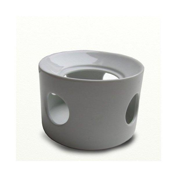 Bornholm fyrfadsvarmer 2,6 ltr, hvid, design Ejnar