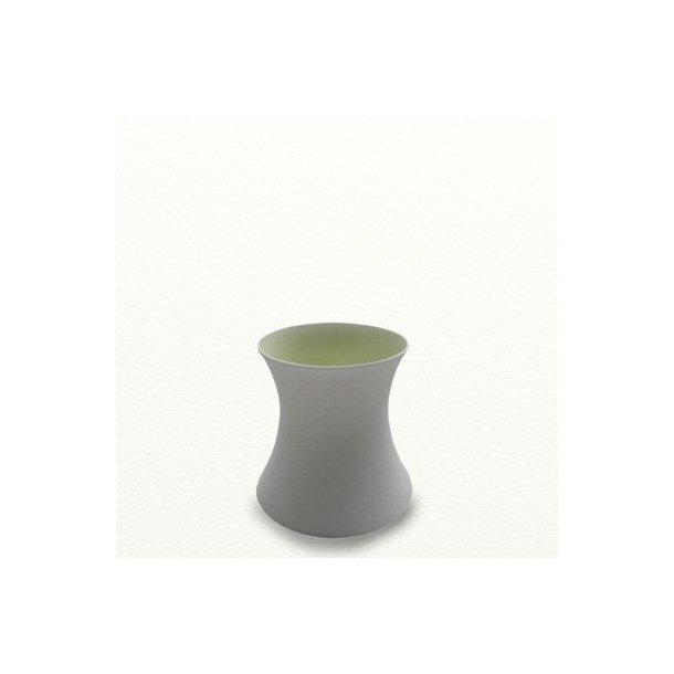 SILENCE vase, lav, æblegrøn