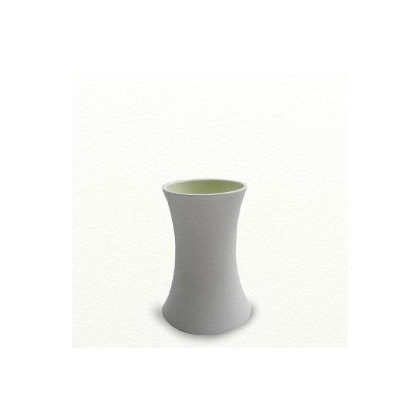 SILENCE vase, medium, æblegrøn