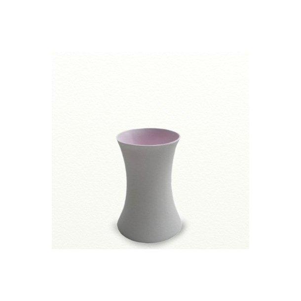 SILENCE vase, medium, lilla