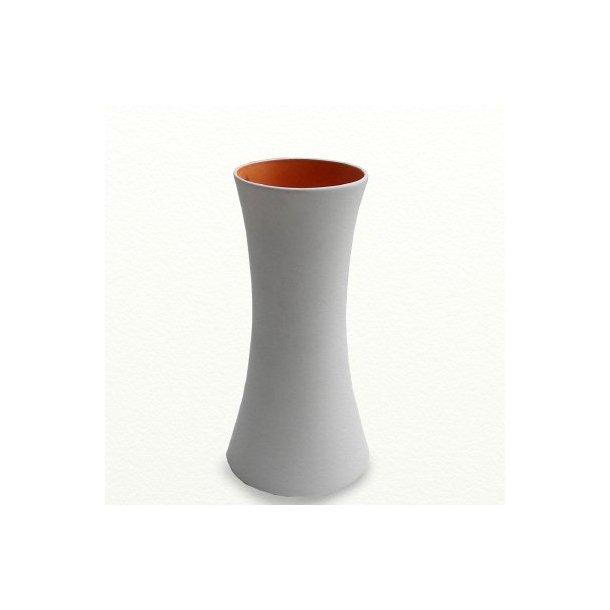 SILENCE vase høj, orange