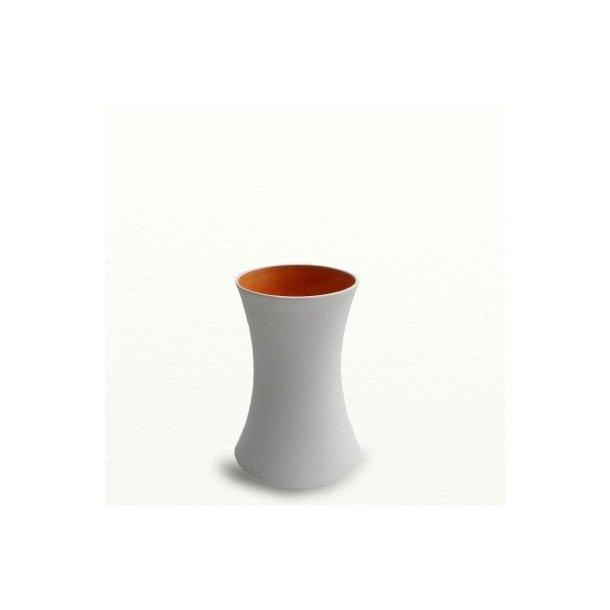 SILENCE vase, medium, Orange