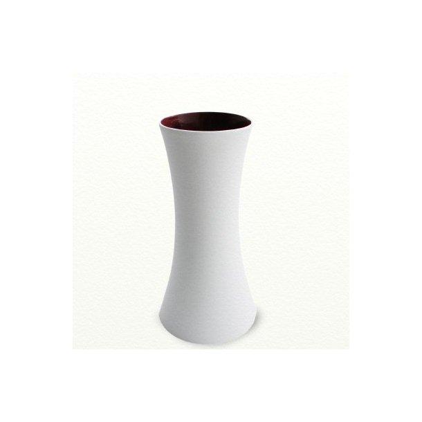 SILENCE vase høj, mokkabrun