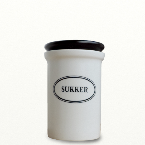 Opbevaringskrukke 1,2 l Sukker - Design Bjarne Bo