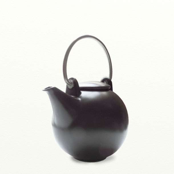 Tekande 1,5 ltr. sort mat - Bornholm serien - design Ejnar